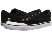 Emerica Indicator Low Black White Men's Skate Shoes