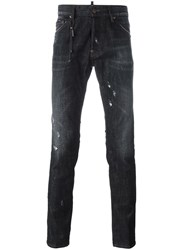 Dsquared2 'Cool Guy' Lightly Distressed Jeans Black