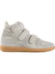 Maison Martin Margiela High Top Trainers Grey