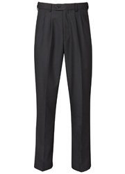 Skopes Waterford Loose Fit Tailored Trousers Black