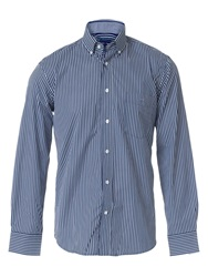 Eden Park Striped Shirt Blue