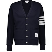 Thom Browne 4 Bar Cardigan Navy