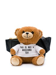 Moschino Teddy Bear Waist Bag Black