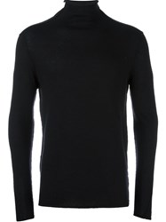 Transit Turtleneck Pullover Black