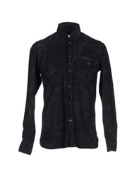 Dondup Shirts Shirts Men Steel Grey