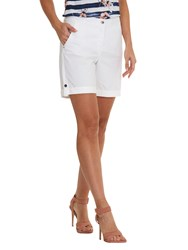 Betty Barclay Cotton Shorts Bright White