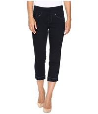 Jag Jeans Marion Pull On Crop Comfort Denim In After Midnight After Midnight Women's Black