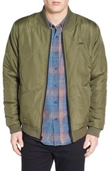 Men's Ezekiel 'Tarmack' Quilted Bomber Jacket