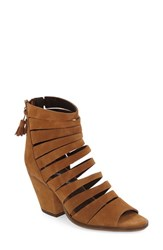Free People Women's 'Cayman' Strappy Sandal Tan Suede