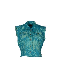 Tripp Nyc Coats And Jackets Jackets Women Turquoise