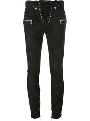 Unravel 'Can' Skinny Jeans Green