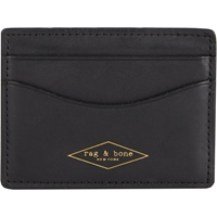 Rag And Bone Credit Card Holder Black