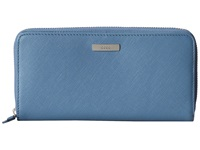 Ecco Firenze Large Zip Wallet Retro Blue Wallet Handbags Multi