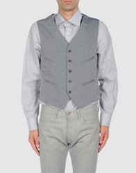 J.W. Tabacchi Vests Grey