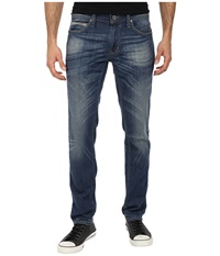Dkny Williamsburg Fit In Cuyama Light Blue Wash Indigo Men's Jeans