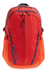 Patagonia Men's 28L Refugio Backpack Red Paintbrush Red