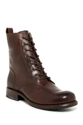 Frye Rogan Tall Lace Up Boot Black
