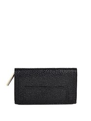 3.1 Phillip Lim Pashli Textured Leather Wallet Black