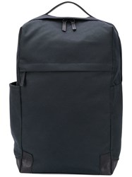 Ally Capellino Square Backpack Blue