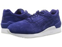 Onitsuka Tiger By Asics Gel Respector Blue Print Blue Print Athletic Shoes
