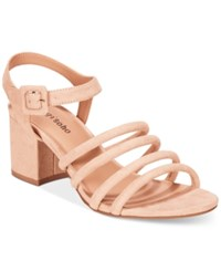Ziginy Zigi Soho Gladys Block Heel Sandals Women's Shoes Nude