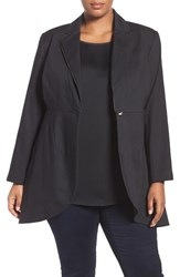 Melissa Mccarthy Seven7 Plus Size Women's Double Cloth Tuxedo Blazer