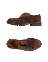 Cavallini Lace Up Shoes Cocoa