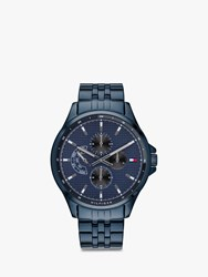 Tommy Hilfiger 'S Casual Chronograph Bracelet Strap Watch Blue 1791618