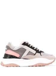 Tod's Chunky Sole Sneakers Grey
