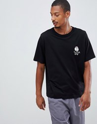 Cheap Monday Flex Skull T Shirt Black