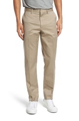 Nordstrom 'S Men's Shop Athletic Fit Non Iron Chinos Tan Burrow