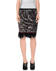 Soallure Skirts Knee Length Skirts Women