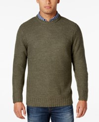 Weatherproof Vintage Men's Big And Tall Sweater Only At Macy's Olive