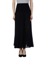 Lucky Lu Long Skirts Black