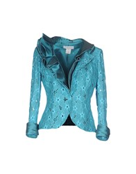 Cailan'd Suits And Jackets Blazers Women Turquoise