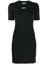 Adidas Fitted T Shirt Dress Black