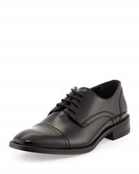 Kenneth Cole All Gathered Leather Oxford Black