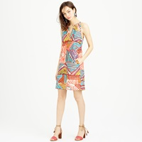 J.Crew Geo Brushstroke Sundress