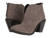 Dingo Dove Grey Cowboy Boots Gray