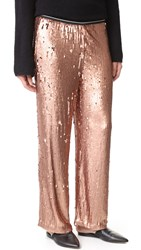 Free People So Sexy Sequin Just A Dreamer Pants Rose