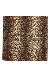Givenchy Women's Leopard Print Square Silk Scarf