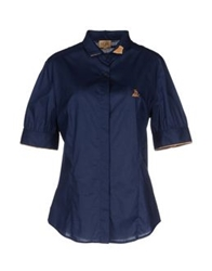 Alviero Martini 1A Classe Shirts Dark Blue