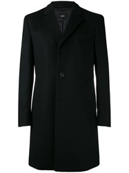 Hugo Boss Formal Single Breasted Coat Black