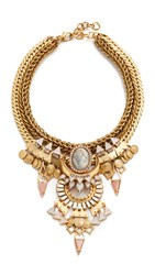 Elizabeth Cole Luella Necklace Nude