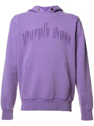 Palm Angels 'Purple Haze' Hoodie Pink Purple