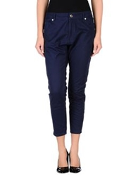 Silvian Heach Casual Pants Blue