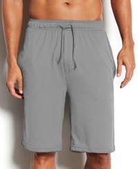 32 Degrees By Weatherproof Pajama Shorts Grey Heather