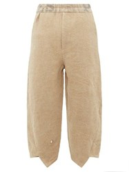 By Walid Artem Canvas Trousers Cream