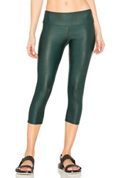 Onzie Capri Pants Dark Green