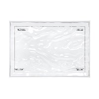 Kartell Dune Tray Crystal Clear